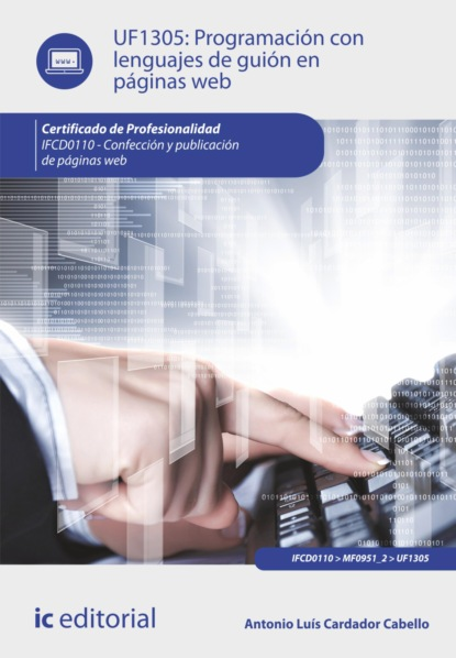 Фото - Antonio Luís Cardador Cabello Programación con lenguajes de guión en páginas web. IFCD0110 antonio luís cardador cabello desarrollo de aplicaciones web distribuidas ifcd0210