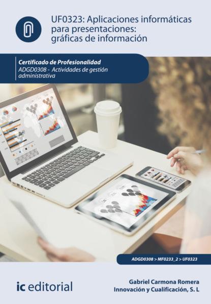 Gabriel Carmona Romera Aplicaciones informáticas para presentaciones: gráficas de información. ADGD0308 francisco javier cruz jiménez aplicaciones informáticas de contabilidad adgd0308