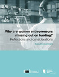 Why are women entrepreneurs missing out on funding  - Executive Summary