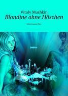 Blondine ohne Höschen. Unterwasser Sex