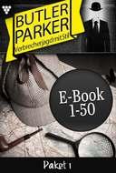 Butler Parker Paket 1 – Kriminalroman