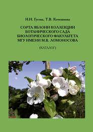 Сорта яблони коллекции ботанического сада биологического факультета МГУ имени М.В.Ломоносова (Каталог)