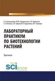 Лабораторный практикум по биотехнологии растений