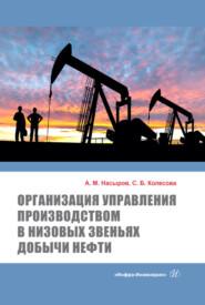 Организация управления производством в низовых звеньях добычи нефти