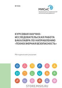 Курсовая научно-исследовательская работа бакалавра по направлению «Техносферная безопасность»