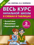 Весь курс начальной школы в схемах и таблицах. Русский язык, математика, окружающий мир. 3 класс