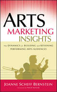 Arts Marketing Insights. The Dynamics of Building and Retaining Performing Arts Audiences