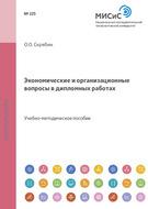 Экономические и организационные вопросы в дипломных работах